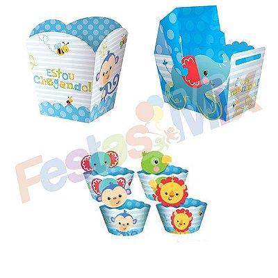 Kit Festa - Fisher Price Chá de Bebê - Menino