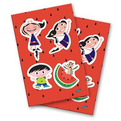 Adesivo Especial - O Show da Luna Melancia - 04 cartelas