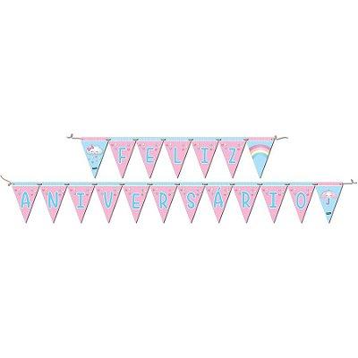 Faixa de Aniversário - Chuva de Amor