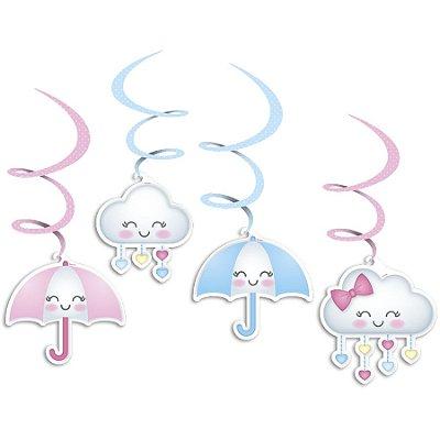 Móbile - Chuva de Amor - 04 unidades