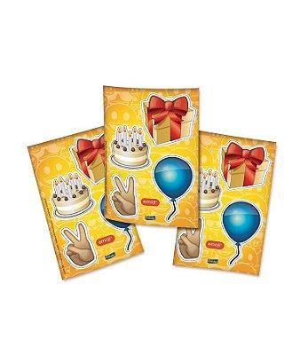 Adesivo Especial - Emoji - 04 cartelas