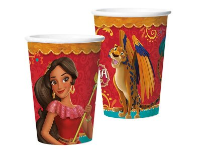 Copo de Papel 180ml - Elena de Avalor - 08 unidades