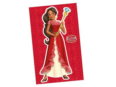 Personagem Decorativo - Elena de Avalor