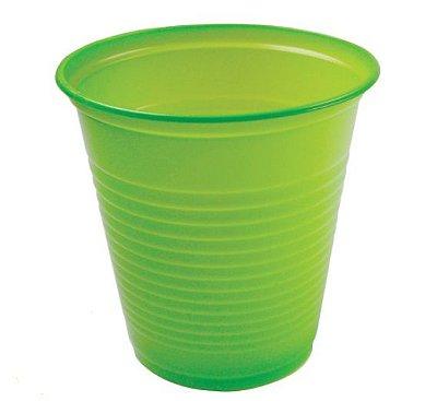 Copo Descartável  - Verde Claro - 200ml