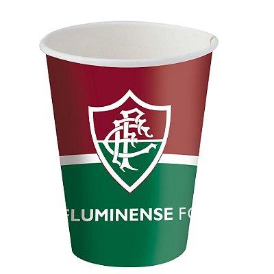 Copo de Papel 200ml - Fluminense - 08 unidades