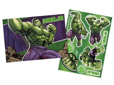 Kit Decorativo - Hulk Animação