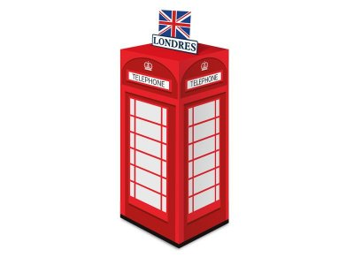 Caixa Surpresa - Londres - 08 unidades