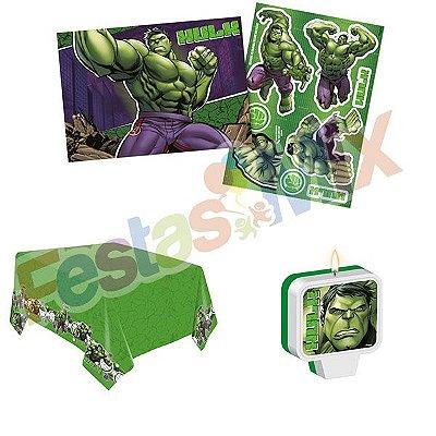Kit Decoração de Festa - Hulk Animação