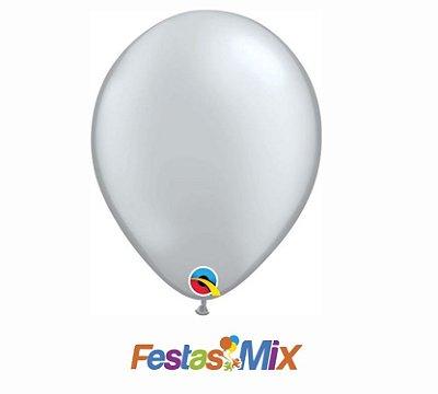 Balão Látex 11 Polegadas- Diamante Transparente -05 unidades
