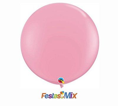 Balão Látex 3 Polegadas - Rosa - 01 unidade