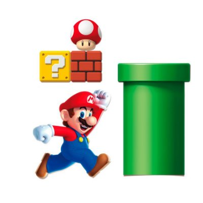 Kit Decorativo - Super Mario Bros