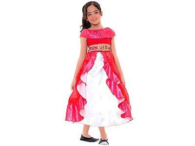 Fantasia Infantil - Princesa Elena de Avalor Clássica - M