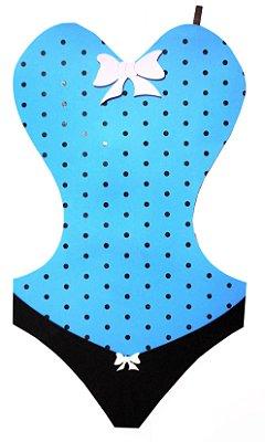 Painel EVA - Corpete Azul