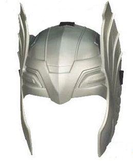 Capacete  de Plástico - Avenger Thor - Prata
