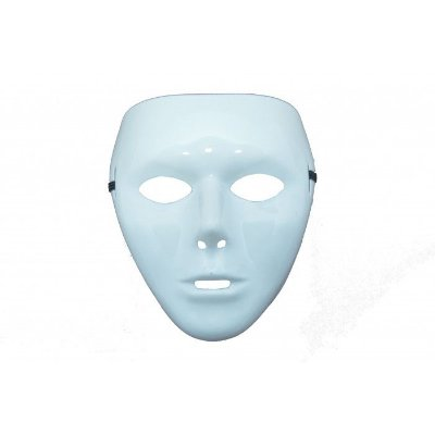 Máscara Branca - 01 unidade