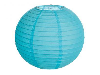 Lanterna de Papel - Azul - 25 cm