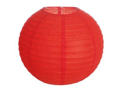 Lanterna de Papel - Vermelha - 25 cm