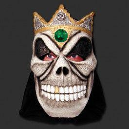 Máscara - Caveira Real com Capuz - Pedra Verde