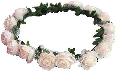 Coroa de Flores - Branca