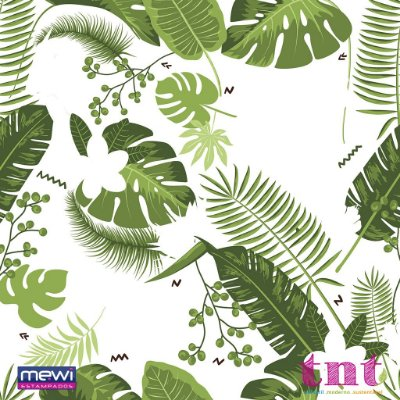 TNT Estampado - Tropical Folhagem - 01 Metro