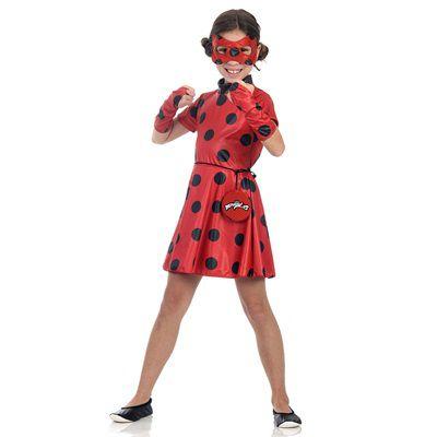 Fantasia Infantil - LadyBug - M