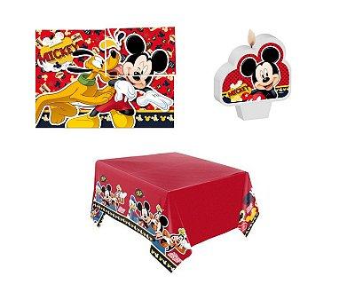 Kit Decoração de Festa - Mickey Mouse Clássico