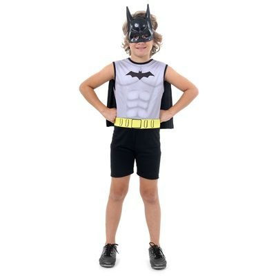 Fantasia Infantil - Batman Light - M