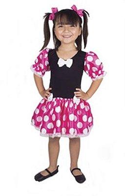 Fantasia Infantil - Minnie Rosa - G
