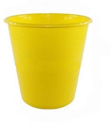 Balde Plástico de Pipoca - Amarelo - 01 litro