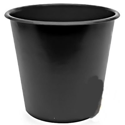 Balde Plástico de Pipoca - Preto - 01 litro