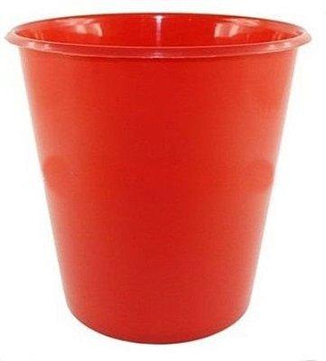 Balde Plástico de Pipoca - Vermelho - 01 litro