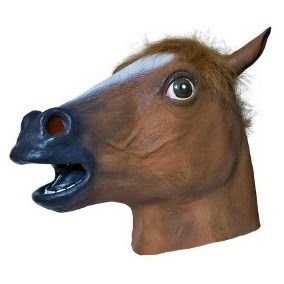 Máscara Látex - Cavalo