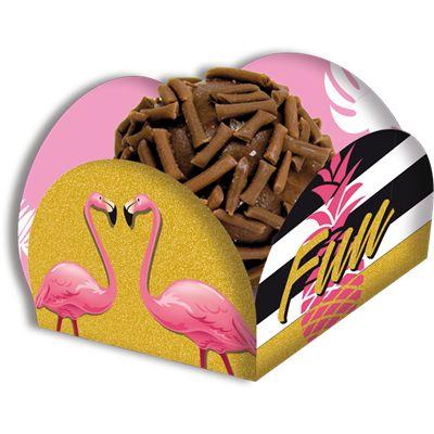 Porta Forminha - Flamingo - 40 unidades