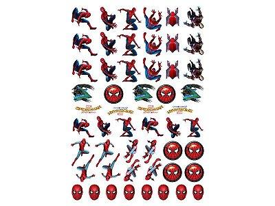 Mini Personagens Decorativos - Homem Aranha Home - 53 und
