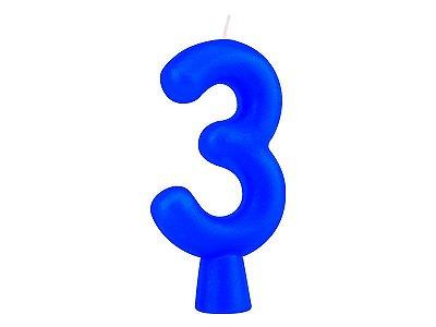 Vela Solid Colors - Azul - Nº 3