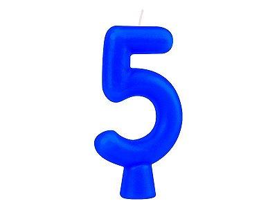Vela Solid Colors - Azul - Nº 5