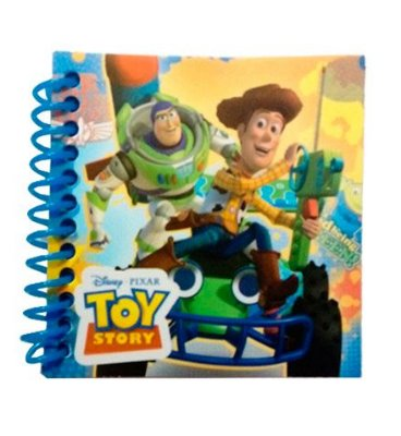 Caderninho - Toy Story
