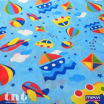 TNT Estampado - Brinquedos - 01 Metro
