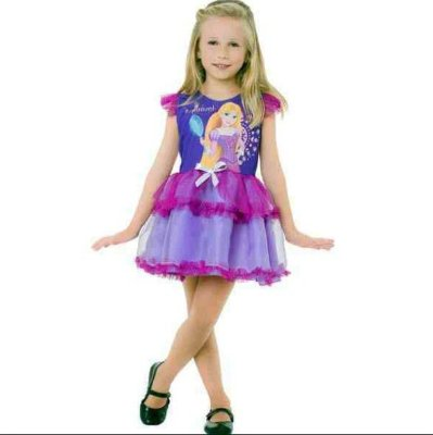 Fantasia Infantil - Rapunzel POP - M