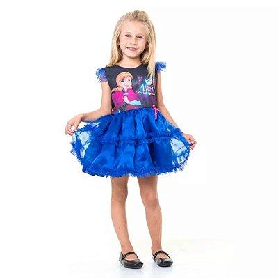 Fantasia Infantil - Frozen - Anna POP - G