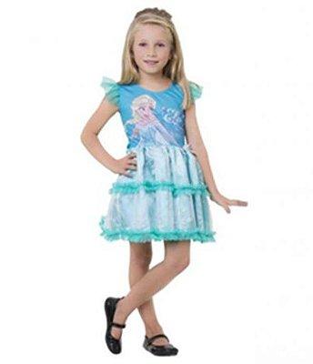 Fantasia Infantil - Frozen - Elsa POP - M