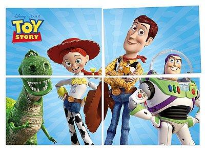 Painel 4 Folhas - Toy Story no Espaço