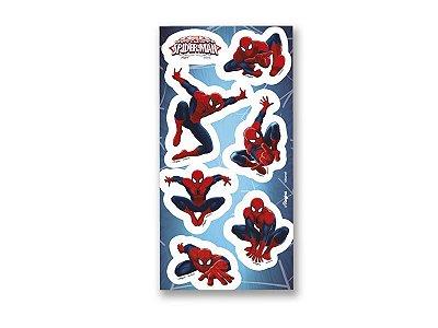 Adesivo para Lembrança - Homem Aranha Ultimate -04 cartelas