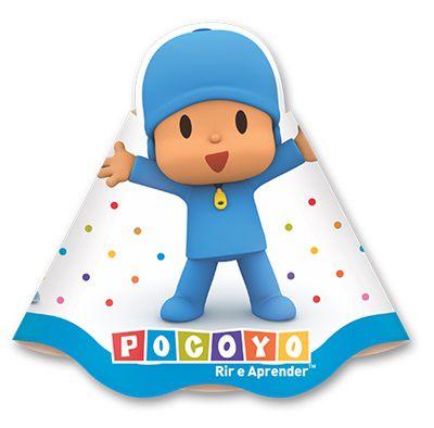 Chapéu de Aniversário - Pocoyo - 08 unidades