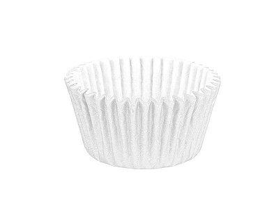 Forminha para Cupcake - Festa Colors Branco - 45 unidades