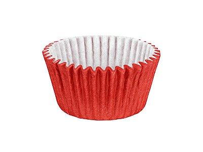 Forminha para Cupcake - Festa Colors Vermelho - 45 unidades