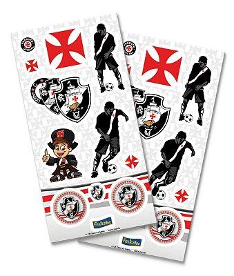 Adesivo Especial - Vasco - 04 cartelas