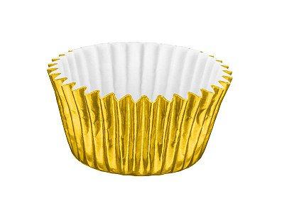 Forminha Nº 6 - Metalizada Dourado - 50 unidades