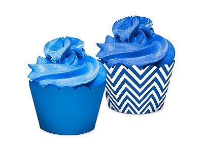 Saia Dupla Face - Festa Colors Azul - 16 unidades