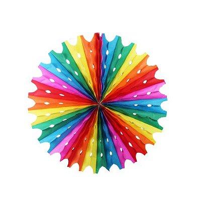 Enfeite Circulo - Colorido
